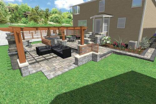 3D Digitial Design Patio