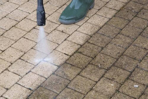 Brick Paver Cleaning