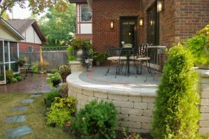 Paver Brick Patio by old World Brick Paving